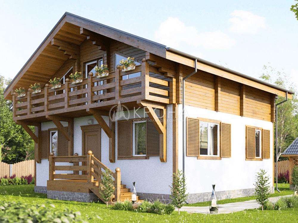 Комбинированный дом Комби 156