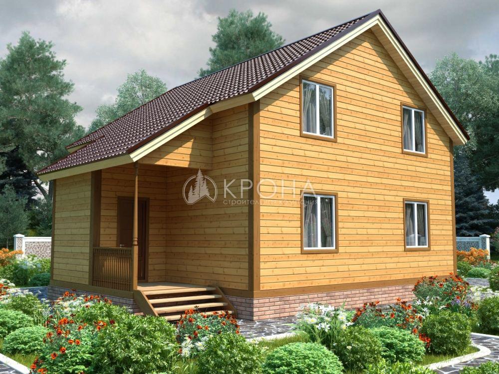Каркасный дом Крона 154