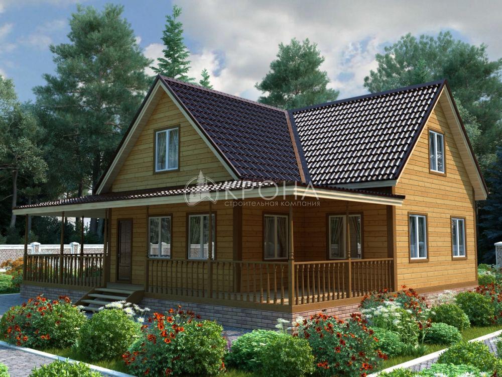 Каркасный дом Крона 198