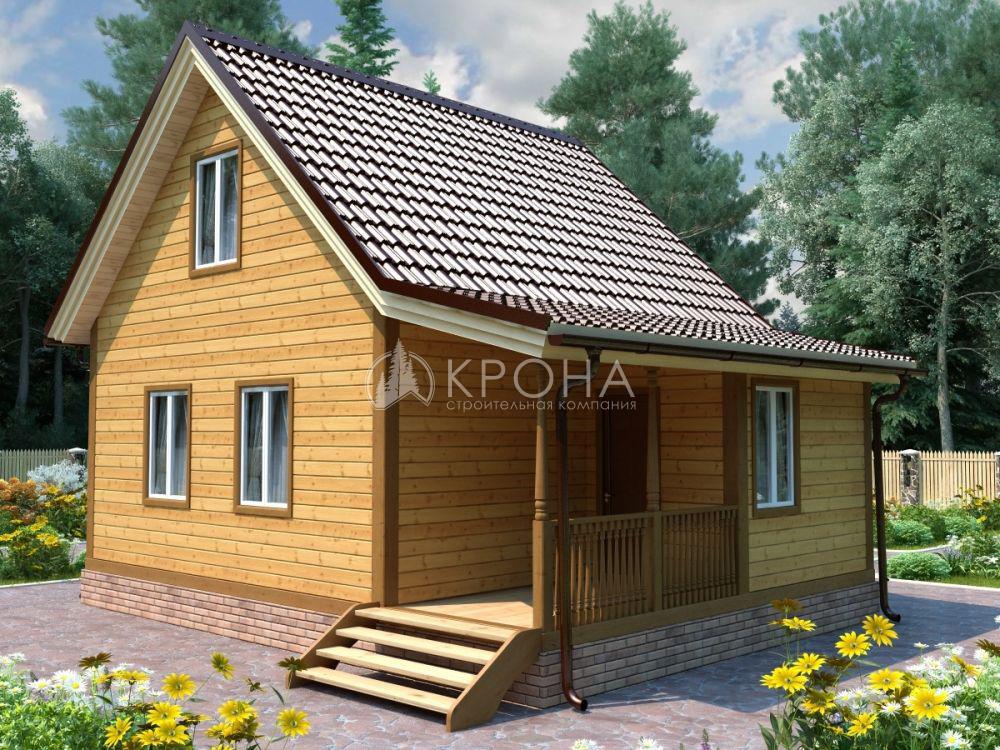Каркасный дом Крона 73
