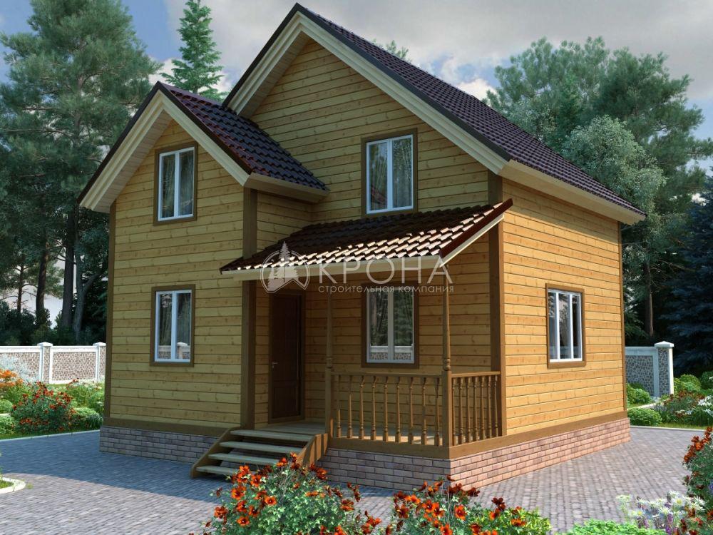 Каркасный дом Крона 89