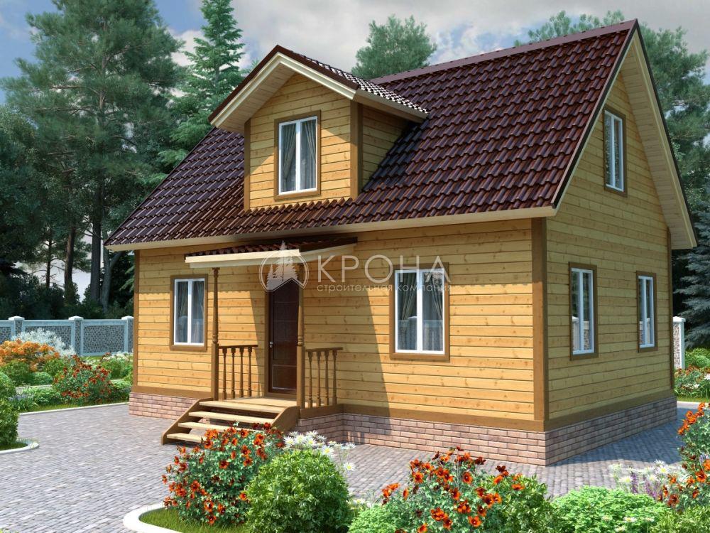 Каркасный дом Крона 93