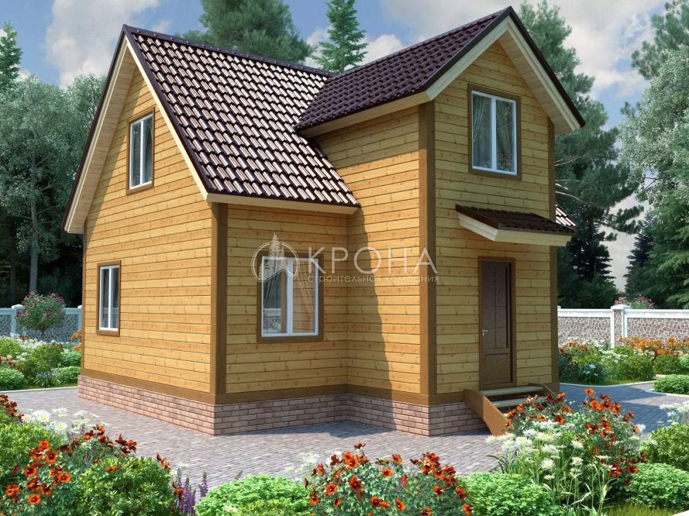 Каркасный дом Крона 93Б