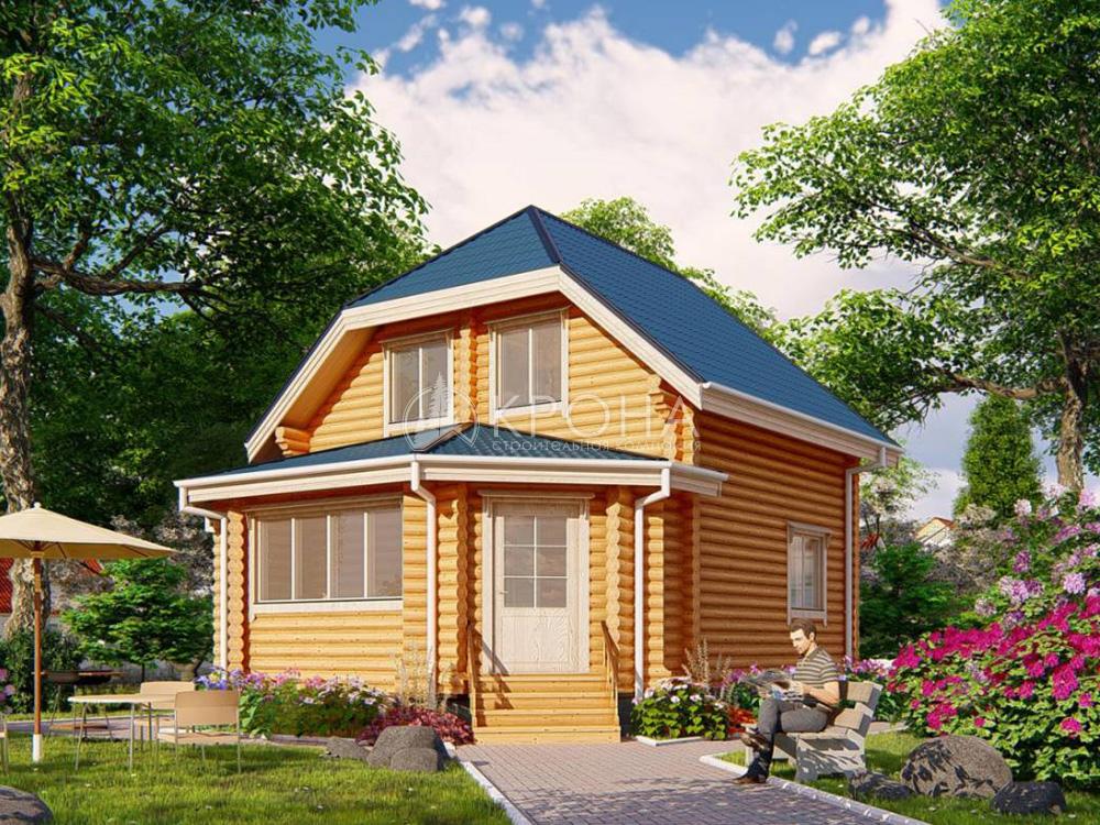 Дом из ОЦБ Устинов
