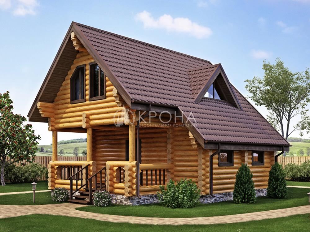 Дом из ОЦБ Валдай