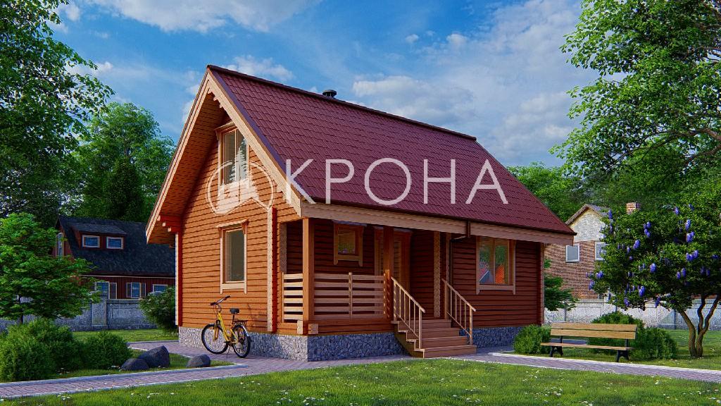 Дом-баня «Латгалия»